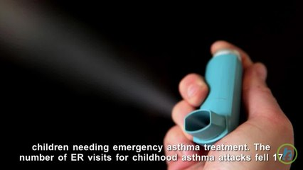 Child Asthma Attacks Fall After Public Smoking Bans