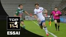 TOP 14 ‐ Essai 2 Armand BATLLE (FCG) – Pau-Grenoble – J18 – Saison 2016/2017