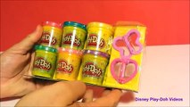 Disney Play Doh SPARKLES BUTTERFLIES - Make a bright and sparkly butterfly and a pretty flower!