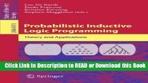 PDF [DOWNLOAD] Probabilistic Inductive Logic Programming (Lecture Notes in Computer Science) BOOOK