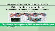 PDF [DOWNLOAD] Bioinformatics: Genomics and Post-Genomics BEST PDF