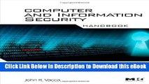 BEST PDF Computer and Information Security Handbook (Morgan Kaufmann Series in Computer Security)