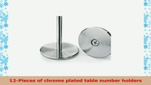 New Star 12 Pc Table Number Holder Table Card Holder Table Number Stand Place Card Holder 60f48048