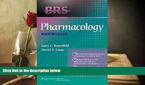 Popular Book  BRS Pharmacology (Board Review Series)  For Full