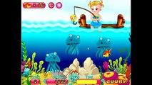 Бесплатные игры онлайн Baby Hazel Fishing Time Малышка Хейзел Время рыбалка игра для детей