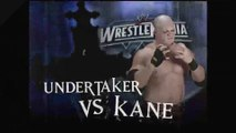 WWE - The Undertaker vs Kane (Return of the Deadman)