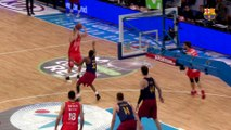 [HIGHLIGHTS] BASKET (Copa del Rey): FC Barcelona Lassa - València Basket (67-76)