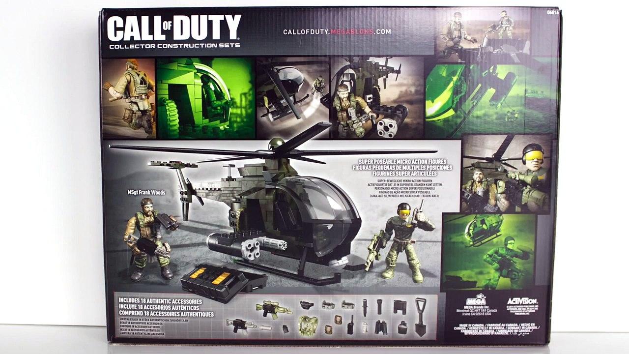 Mega Bloks Call Of Duty Chopper Strike Set Review Dailymotion Video