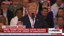 President Trump cites terrorist incident in Sweden that never happened