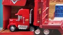 Disney Cars Mack Truck Carbon Racers Launcher Lightning McQueen Disney Store Toy Review