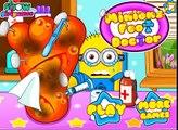 Juego De Minion Juegos De Niños En Línea Juegos De Minions Médico De Los Pies Juego