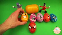 Kinder Surprise Egg Learn-A-Word! Spelling Play-Doh Shapes! Lesson 10(Teaching Letters Ope