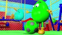 Bolas Para los Niños 3D Aprender los Colores de la Colección de la Bola del Color Pit Muestran Animados por los Huevos Sorpresa
