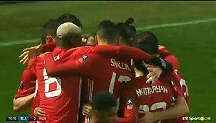 Zlatan Ibrahimović Goal HD - Blackburn Rovers 1-2 Manchester United 19.02.2017 HD