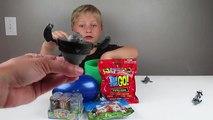 WILD KRATTS! Serpiente Gigante Ataques De Tortuga! DONITA DONATA Play-Doh Huevo Sorpresa!! Salvaje Kratt