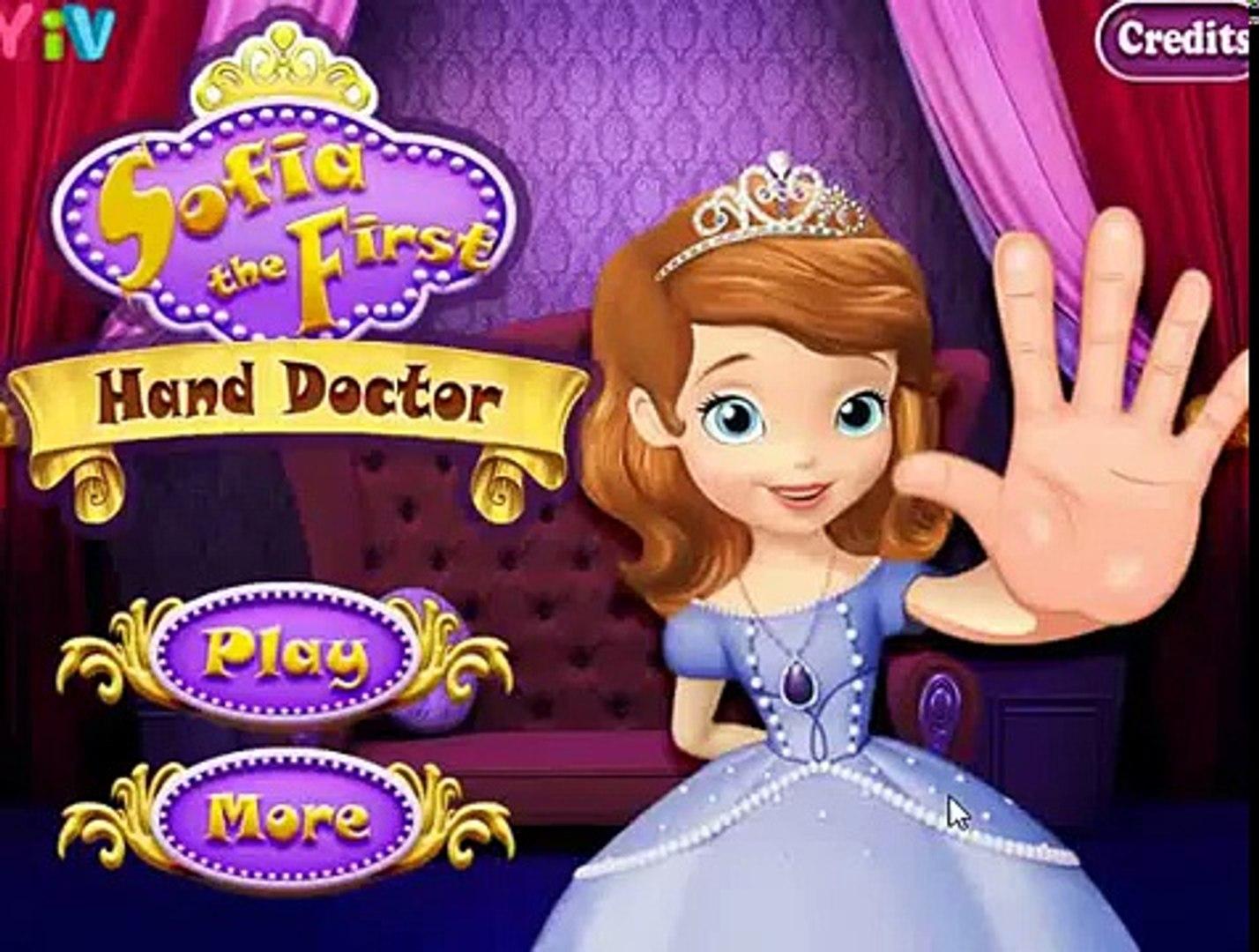 София лечит руки у доктора / Sofia The First Hand Doctor