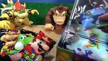 BALL n JACKS Game! Play Jacks + Super Mario Cubes Lunch Box Surprises, Learn Game HobbyKi