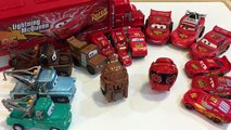 TOY CARS - Disney Cars 3 Hatch N Heroes Eggs - STOP Animation - Mater & Lightning McQueen Bandai Egg