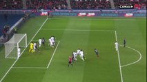 Presnel Kimpembe saves Marquinhos shot on the line!