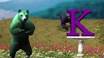Learn The Wild Animal Train Childrens Songs | Zoo Animals Cartoon 3D Animation Nursery Rh
