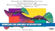 Read Book Partial Differential Equations   Boundary Value Problems with Maple V Free Books
