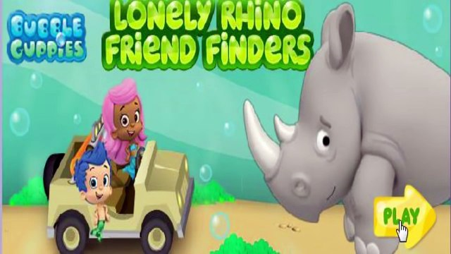 Bubble Guppies - Lonely Rhino Friend Finders - Nick Jr. Games #BRODIGAMES