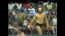 Bruiser Brody/Iceman Parsons vs One Man Gang/Mark Lewin (WCCW August 23rd, 1985)