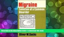 FREE [DOWNLOAD] Migraine Oliver Sacks Trial Ebook