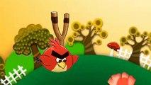 de dibujos animados de Angry Birds en contra de masha y el Oso, angry birds en línea cartoon pam and the Bear o