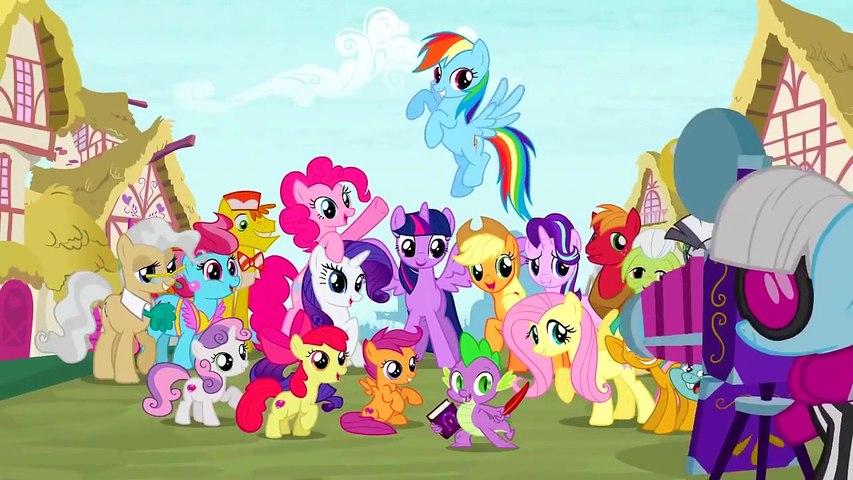 My Little Pony - Saison 6 Épisode 14 en français (La course de voiture Poneyville) [HD]