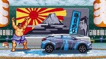 Toyota C-HR fait sa pub avec Street Fighter II