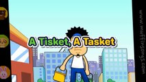 A Tisket A Tasket   Nursery Rhymes Songs With Lyrics   Kids Songs