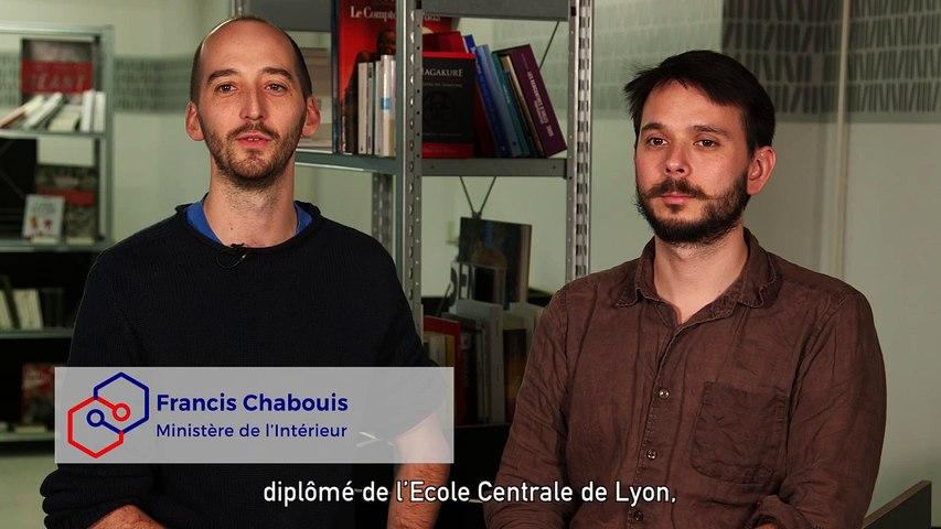 [Portrait] Francis Chabouis et Tristram Gräbener #EIG #Promo1