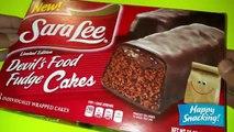 Sara Lee Edición Limitada de Comida del Diablo Pasteles de Chocolate y Crema de Chocolate Cupcakes de Revisión