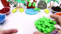 Learning Colors for Children with M&M Candy and The Good Dinosaurs-oKVoWEX