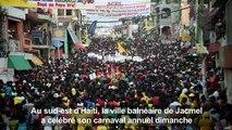 Haïti : Jacmel fête son carnaval annuel