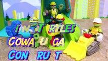 Teenage Mutant Ninja Turtles Cowabunga Construction Crew New Half Shell Heroes Pranked by Rocksteady-nXuC_pr