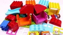 Building Blocks Toys for Children Lego Playhouse Kids Day Creative Fun-sj