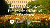 Le Master du Muséum national d'Histoire naturelle