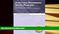 Best Ebook  Structural Engineering Solved Problems, 5th Ed  For Online