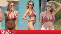 Charlotte McKinney Stuns in Bikini While in Miami, Florida
