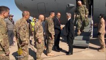 US defence chief in Baghdad as Iraqi forces push into Mosul