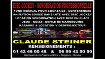 DJ DISC JOCKEY PARIS - KARAOKE - MARIAGE ANNIVERSAIRE COMITÉ D'ENTREPRISE 75 PARIS RÉCEPTIONS
