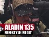 Aladin 135 en freestyle inédit #PlanèteRap