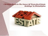 Christian Penta Is The Owner Of ˜Penta Real Estate Holdings' In Philadelphia