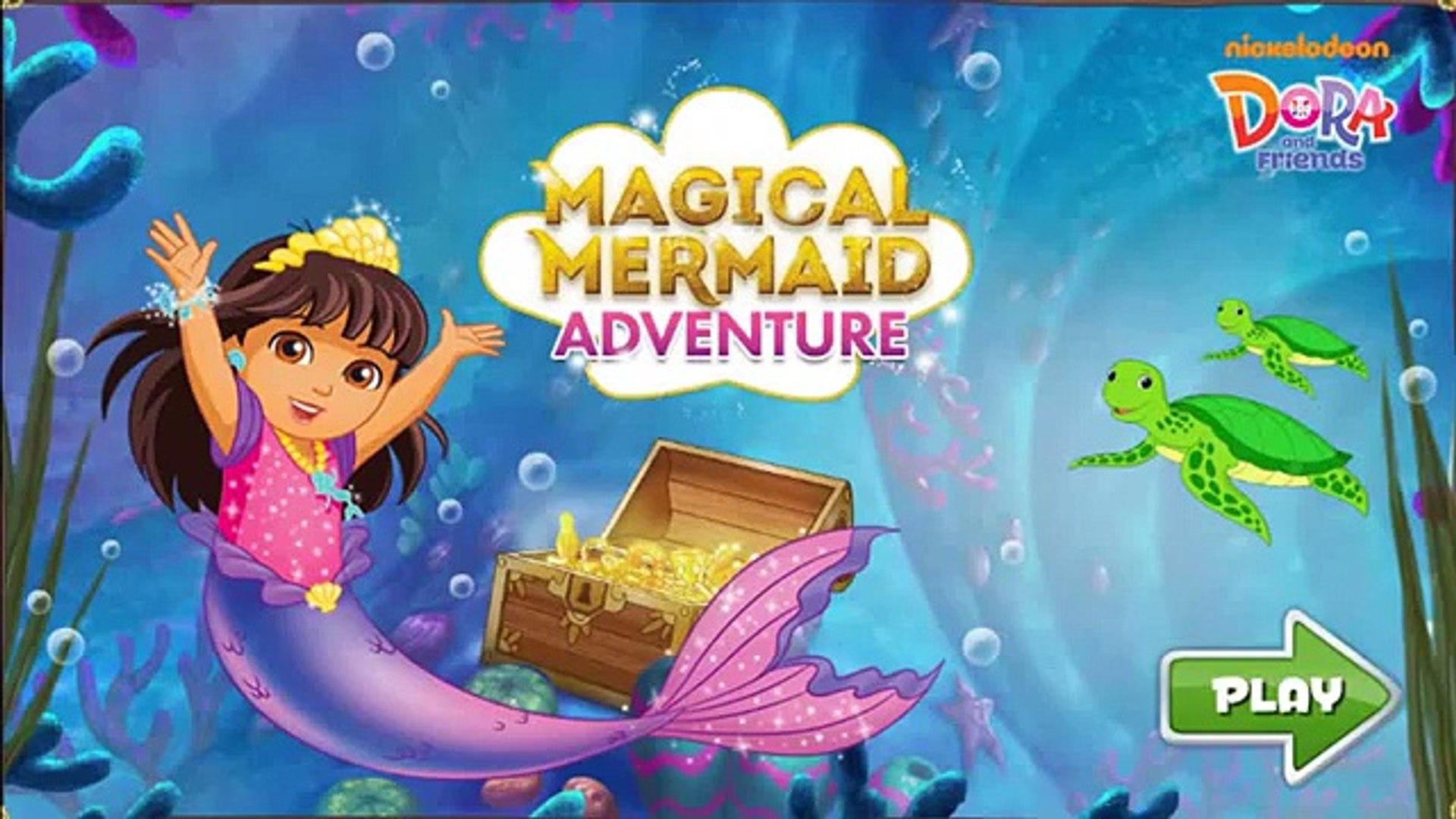 Dora La Exploradora Dora La Mágica Aventura De Sirena De La Película Juego De Dora Y A Sus Amigos Dora