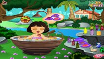 Cute Dora Bathing Game - New Dora Games - Fun Baby Bathing Games for Little Girls