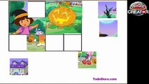 ᴴᴰ ♥♥♥ Dora the Explorer Game Episode - Dora Halloween Puzzle Games - Dora the Explorer games