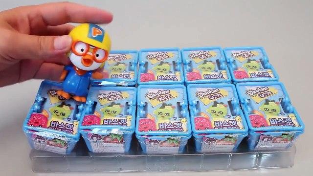 Shopkins Blind Baskets Toys #2 샾킨즈 바구니 랜덤 캐릭터와 뽀로로 타요 폴리 장난감