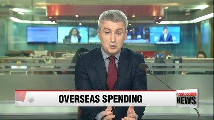 Koreans' credit, debit card spending overseas hits record high in 2016